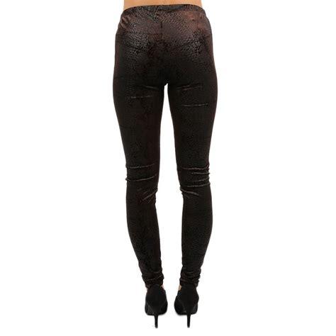 Legging Brown 28 31 west side legging brown impressions s clothing boutique