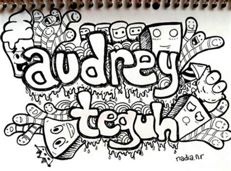 doodle nama sendiri kumpulan contoh gambar doodle yang sederhana dan bisa