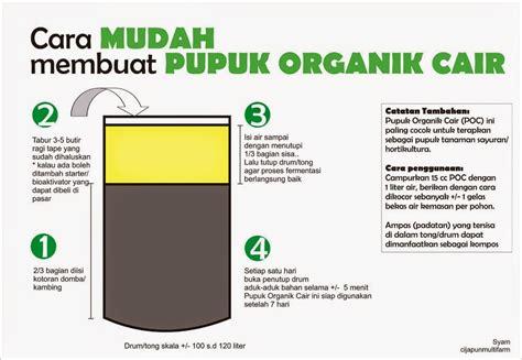 cara membuat pupuk hidroponik alami pembuatan pupuk dengan bakteri em4 tani organik