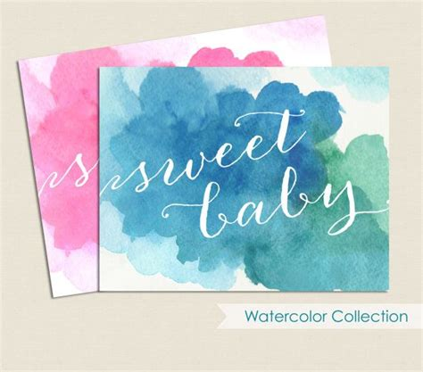 17 best images about on watercolor quote and baby necessities