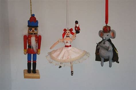 the nutcracker character trio ornament set
