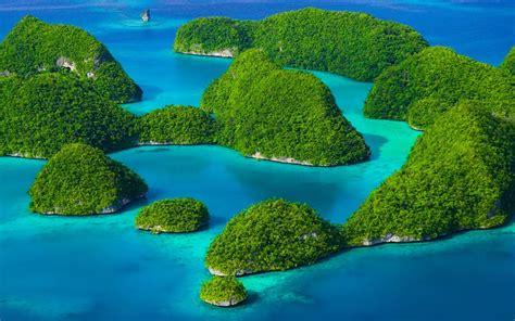 Hd Archipelagos Blue island windows 10 theme themepack me