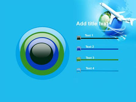 Airline Powerpoint Templates by Airlines Powerpoint Template Backgrounds 07964