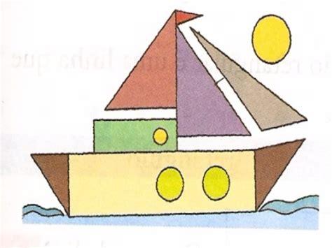 imagenes de barcos con figuras geometricas puzzle de rompecabezas de las figuras geometricas