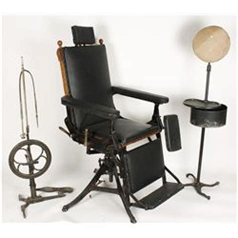 Gynecologist Chair by Antique Dual Purpose Dental And Gynecology Chair