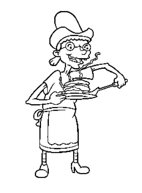Hey Arnold Coloring Pages Coloring Pages Hey Arnold Coloring Pages