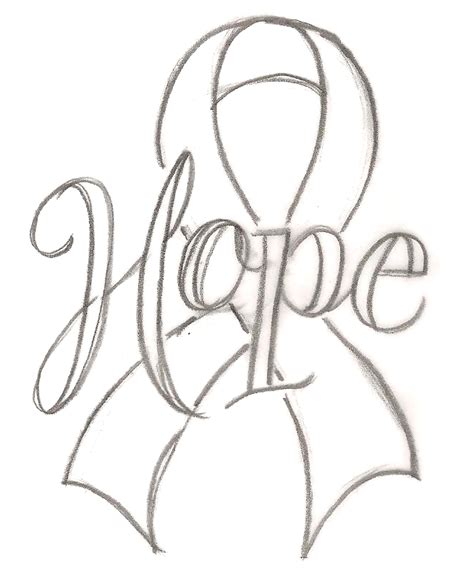 free coloring pages of breast cancer ribbon