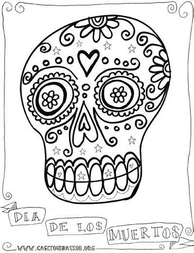 sugar skull coloring pages pdf free 5129538771 43c16b45d5 z jpg