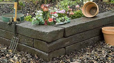 Wooden Sleepers Garden Edging by Wooden Sleepers Add Character And Style To Gardens