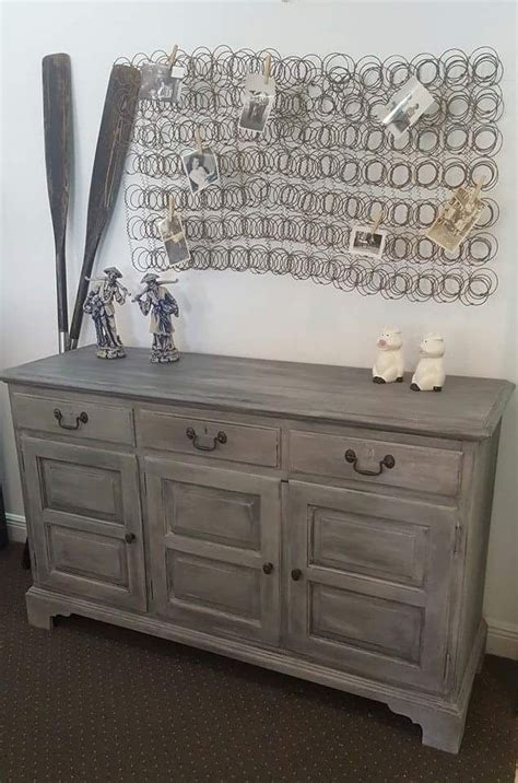 chalk paint ideas dresser sloan chalk paint 174 grey graphite and soft wax