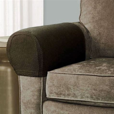 sofa arm covers 2 armrest covers stretchy set chair or sofa arm