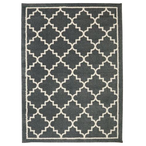 11 X 12 Area Rug Home Decorators Collection Winslow Slate 10 Ft X 12 Ft 11 In Area Rug 492748 The Home