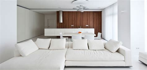 modern white apartment interior by alexandra fedorova 14 modern moscow apartment with all white interior by