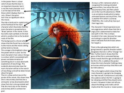 orphan film poster analysis brave poster and trailer analysis