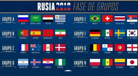 Calendario A Rusia 2018 Calendario Mundial Rusia 2018 Fixture Completo Fifa