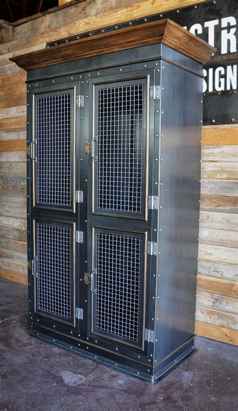 Industrial Storage Cabinets Vintage Industrial Storage Cabinet Vintage Industrial
