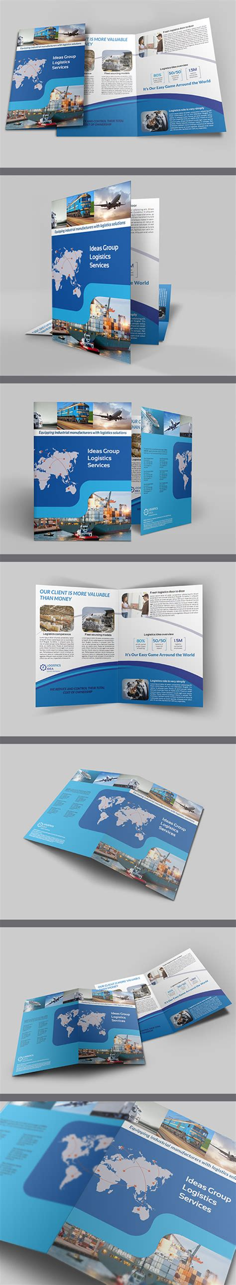 awesome corporate printable brochure designs graphics
