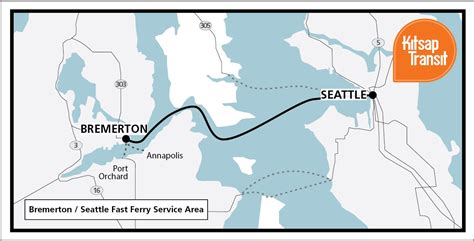 seattle map ferry bremerton real estate fast ferry 30 minutes from seattle