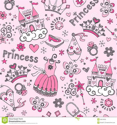 bad princess true tales from the tiara books tale princess pattern sketchy doodles vector royalty