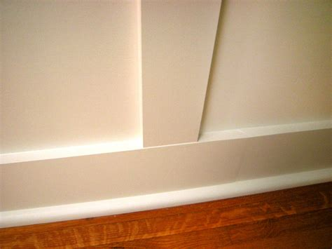 Installing Wainscoting Panels How To Install Recessed Panel Wainscoting How Tos Diy