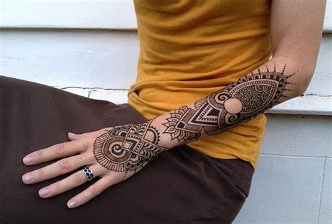 henna tattoo designs sleeve geometric amazing henna design henna