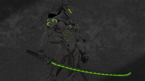 overwatch genji wallpapers photo  cool wallpapers