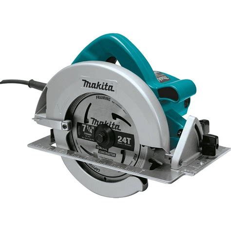 Circular Saw Guide Home Depot by Makita 15 7 1 4 In Corded Circular Saw W Dust Port 2 Led Lights 24t Carbide Blade 5007f
