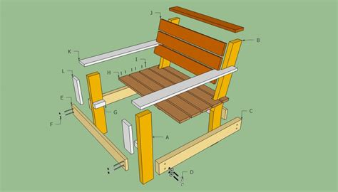 how to build a patio chair outdoor chair plans howtospecialist how to build step by step diy plans