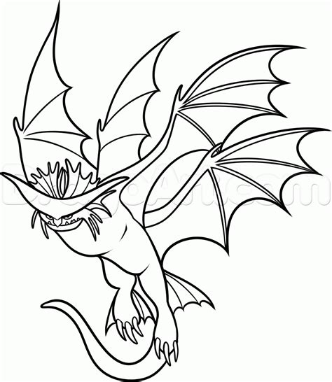 Cloudjumper Dragon Coloring Page | step 17 how to draw cloudjumper