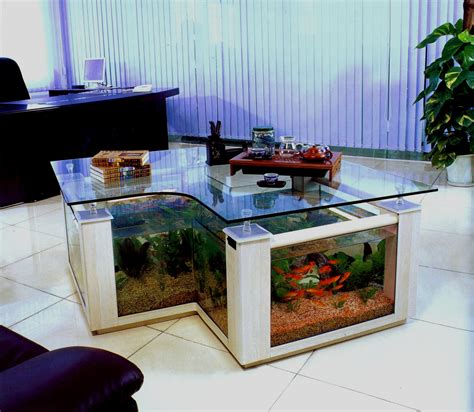 aquarium fish tank coffee table