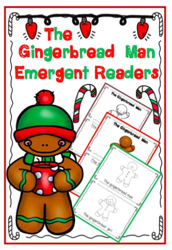 gingerbread man easy reader printable apples of gold teaching resources tes