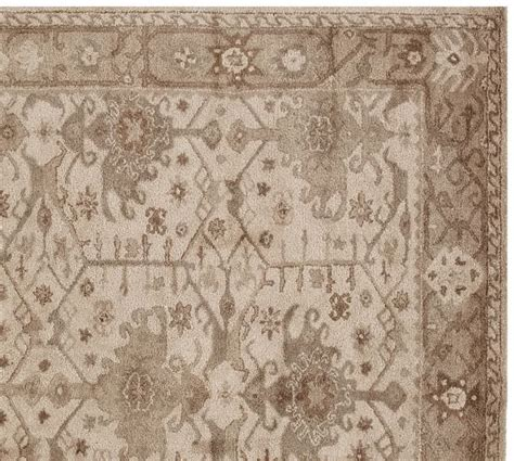 Channing Persian Rug Neutral Pottery Barn Pottery Barn Rug Reviews