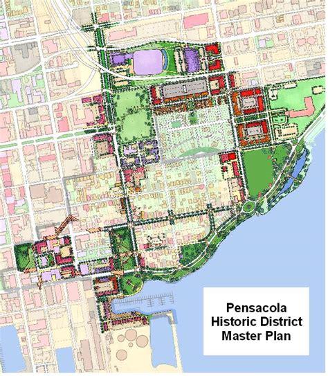 pensacola historic district master plan 2004 city of