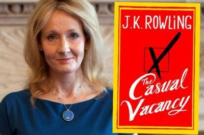 Jk Rowling The Casual Vacancy to read or not to read
