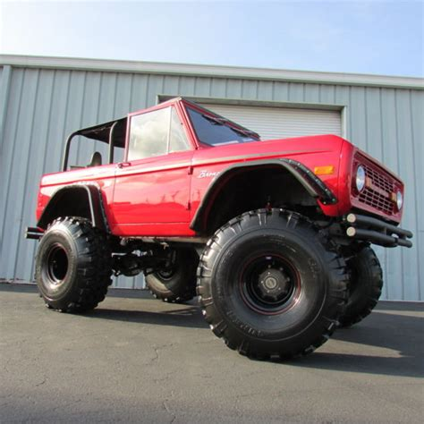 4wd road 689 351 classic big 1977 ford bronco show truck 351w