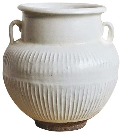 Rustic Vases Pottery by Ceramic Pottery Vase White Rustic Vases By Design