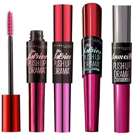 Mascara Maybelline Drama maybelline the falsies push up drama mascara brand new sealed choose type ebay