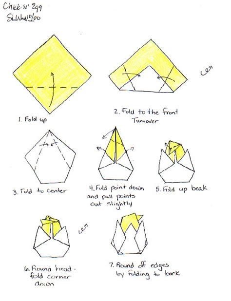 How To Make Origami Easter Eggs - n egg make origami