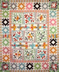 fancy wonky cross quilt pattern by sew well maide craftsy