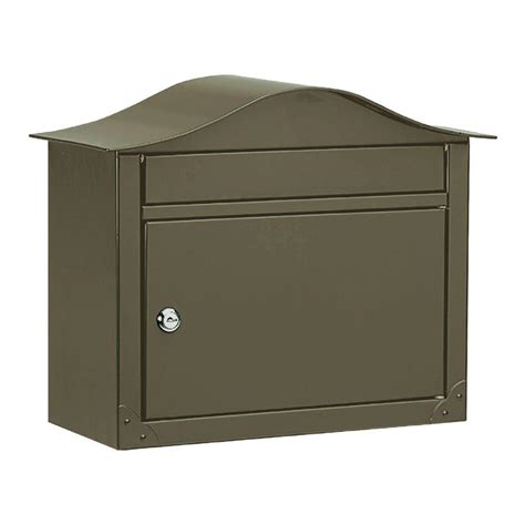 architectural mailboxes lunada bronze wall mount mailbox