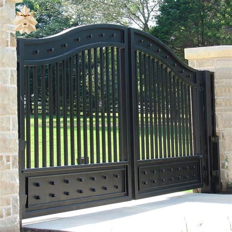 modern house wrought iron gate design double door ntirg