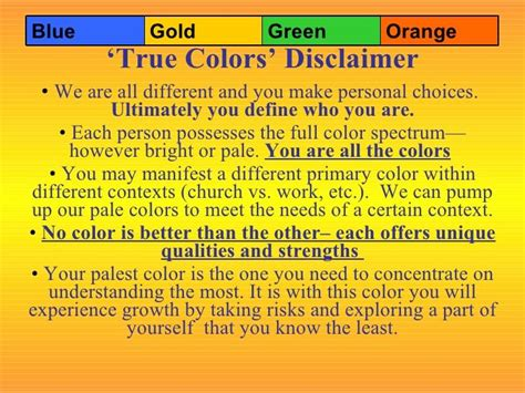true color test 25 b 228 sta true colors personality test id 233 erna p 229