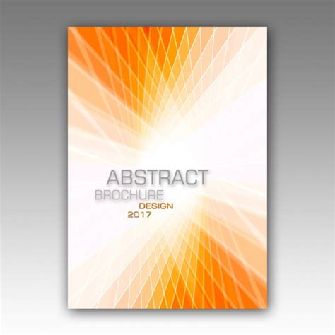 abstract brochure template psd file free download