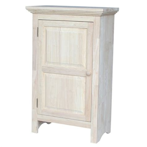 Unfinished Pantry Cabinet by International Concepts Home Accents Unfinished 36 Quot Single