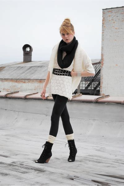 white modified h m dresses outfitters boots