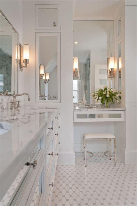 peak  tres chic   grandmas tile bathroom
