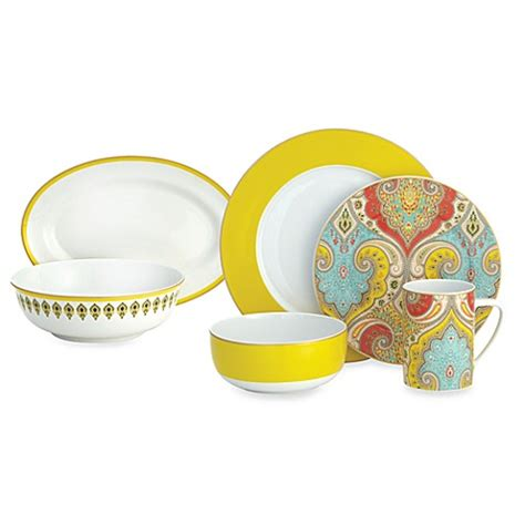 echo design latika dinnerware collection bed bath beyond