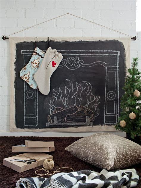 diy chalkboard fireplace 65 handmade diy decorating ideas easy crafts