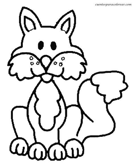 dibujos para colorear zorro dibujos para colorear zorros