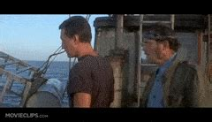 jaws song in boat monsters unleashed gifs search find make share gfycat